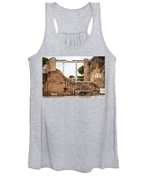 Ruins Of Ostia Antica Women's Tank Top