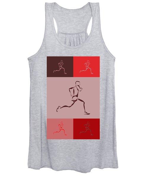 Running Runner4 Women's Tank Top