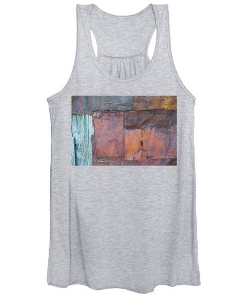 Rust Squared Women's Tank Top