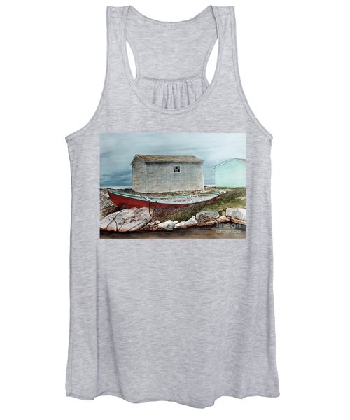 Safe From The Storm Women's Tank Top