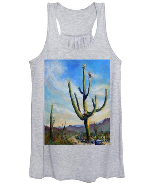 Saguaro Cacti Women's Tank Top