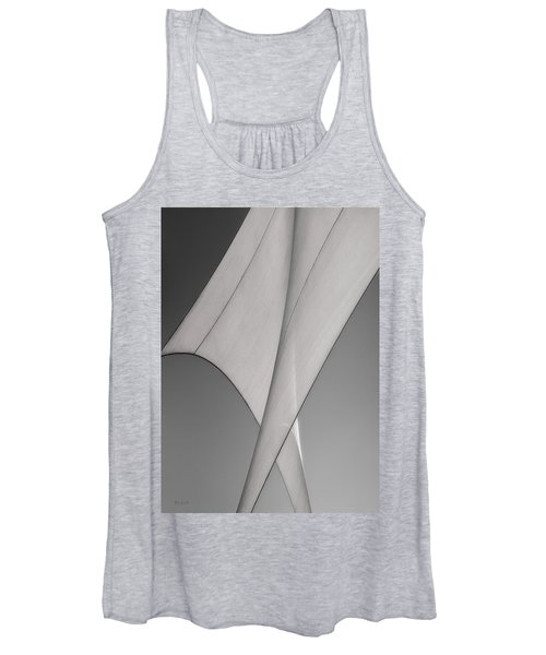 Sailcloth Abstract Number 3 Women's Tank Top