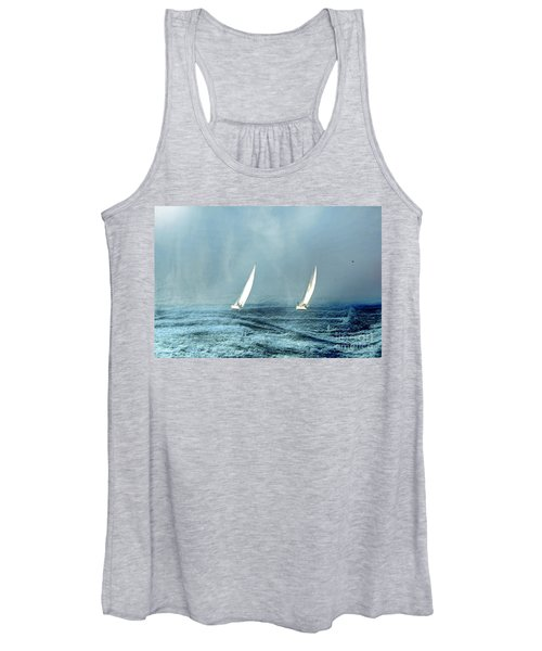 Sailing Into The Unknown Women's Tank Top
