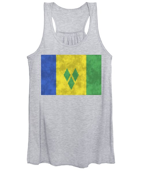 Saint Vincent And The Grenadines Flag Women's Tank Top