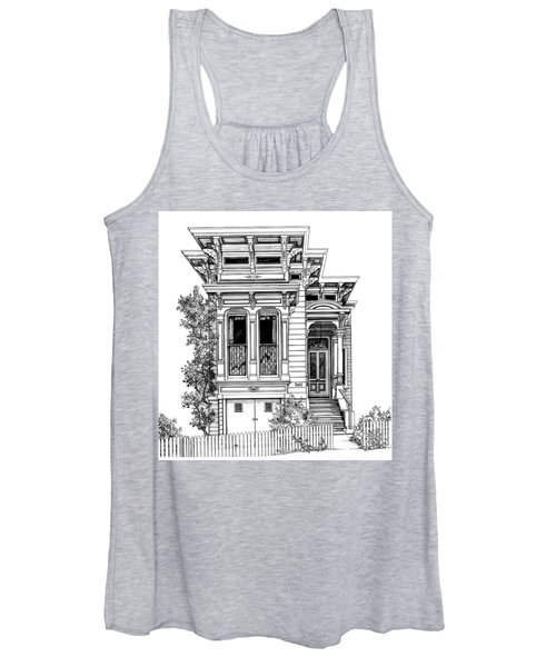 San Fracisco Victorian2 Women's Tank Top