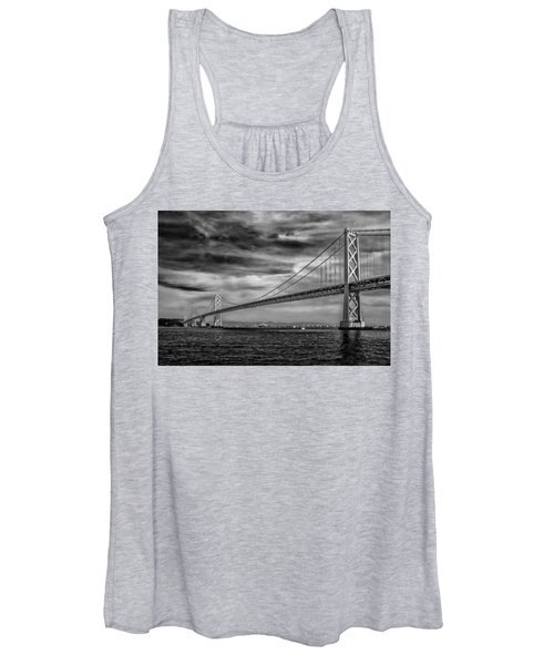 San Francisco - Oakland Bay Bridge Women's Tank Top