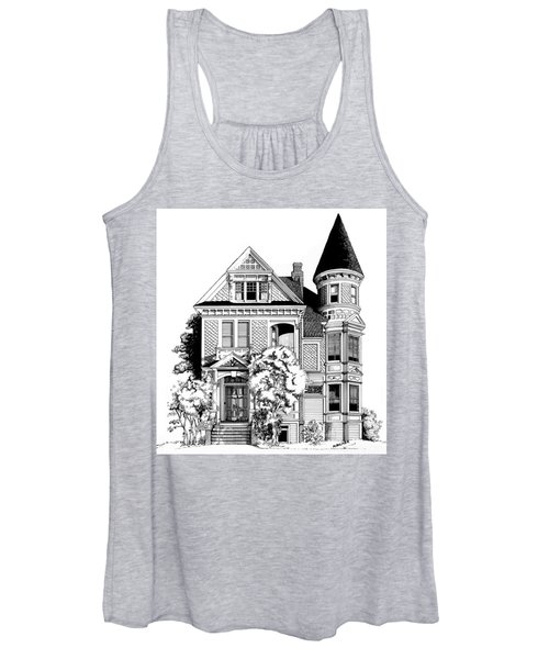 San Francisco Victorian Women's Tank Top