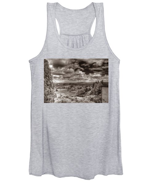 San Gimignano View Women's Tank Top