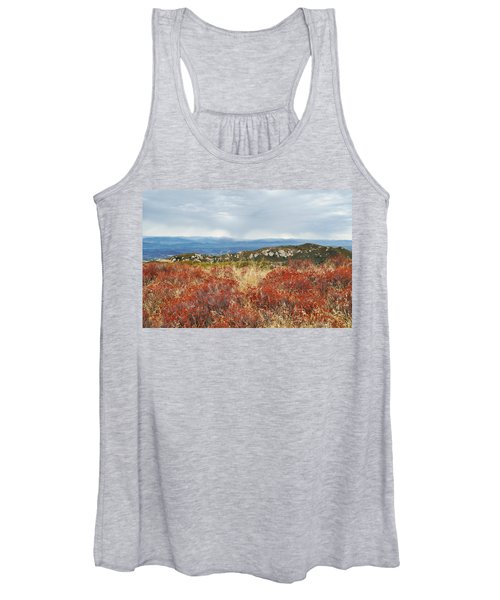 Sandstone Peak Fall Landscape Women's Tank Top