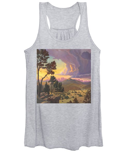 Santa Fe Baldy - Detail Women's Tank Top