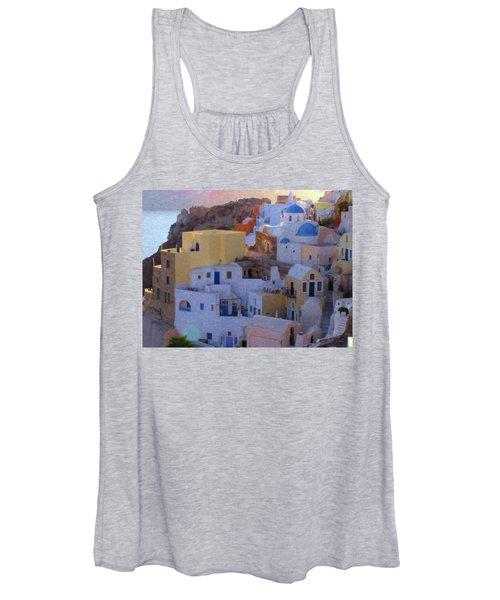Santorini Grk6424 Women's Tank Top