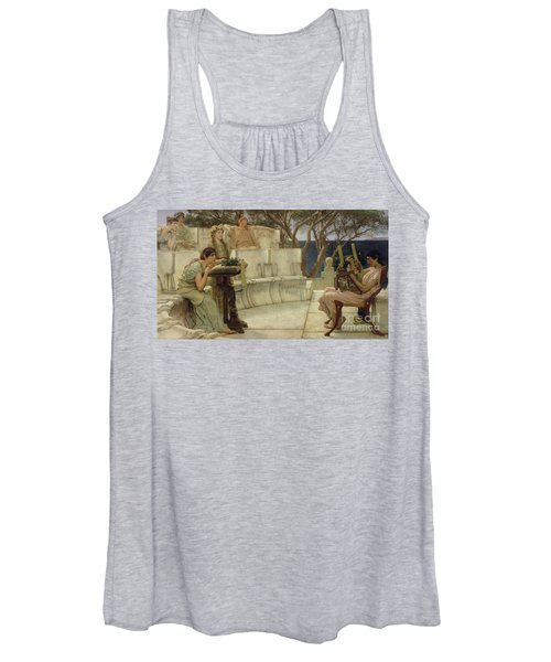 Sappho And Alcaeus Women's Tank Top
