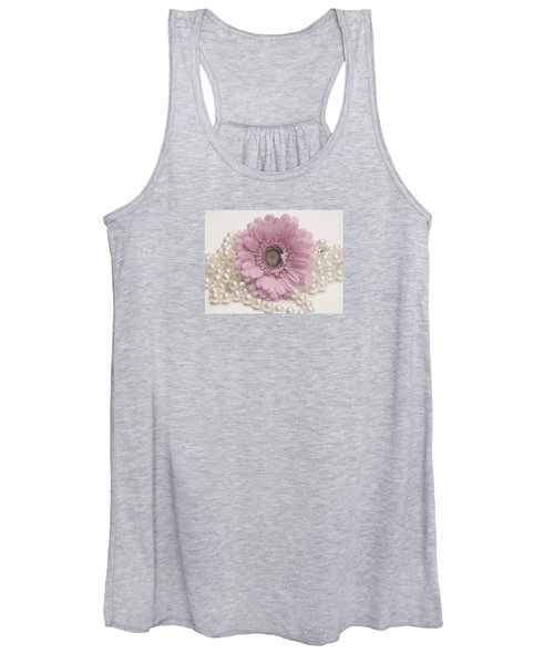 Say It With Pearls Women's Tank Top