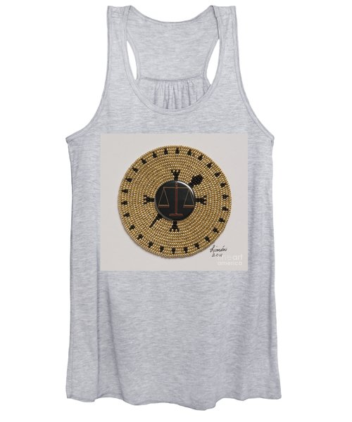 Scales Of Justice Women's Tank Top