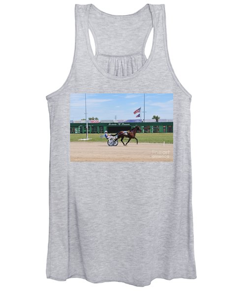 D3w-206 Scioto Downs Photo Women's Tank Top