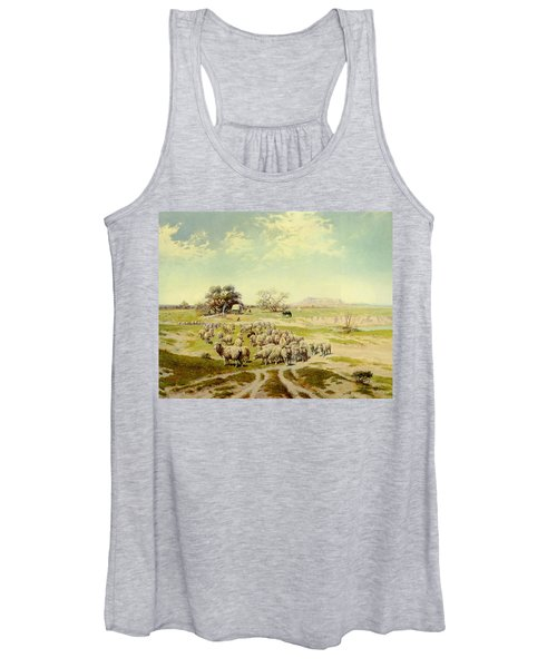 Sheepherding Montana Women's Tank Top