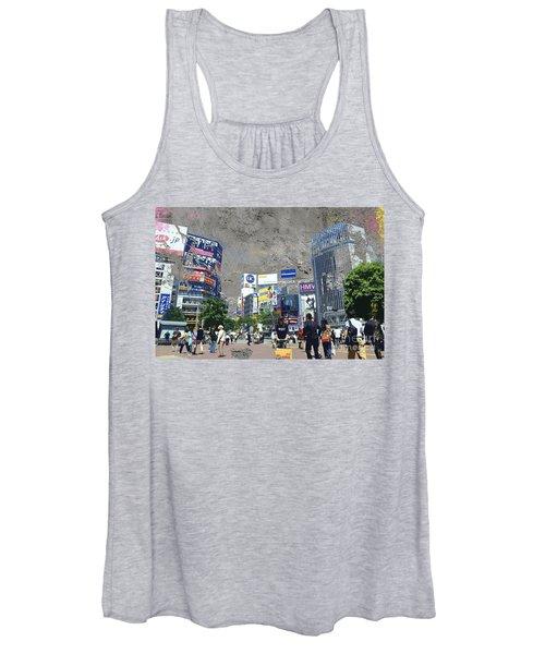 Shibuya Street Creation Women's Tank Top