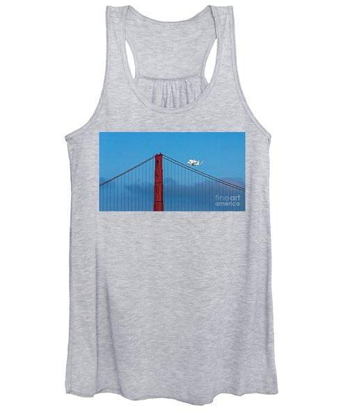 Shuttle Endeavour At The Golden Gate Women's Tank Top