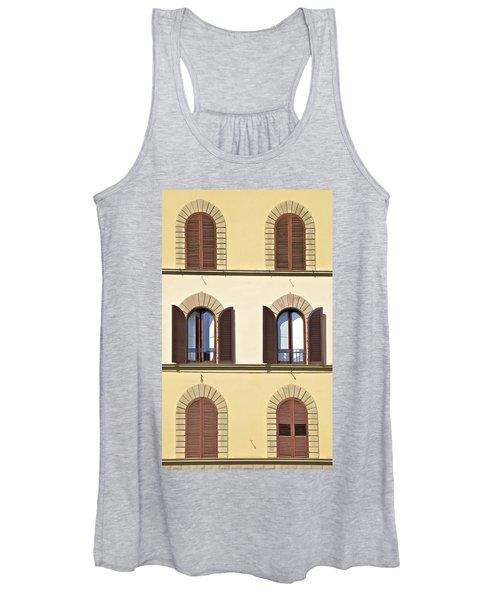 Six Windows Of Florence Women's Tank Top