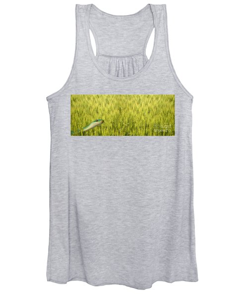 Snake In The Grass Women's Tank Top