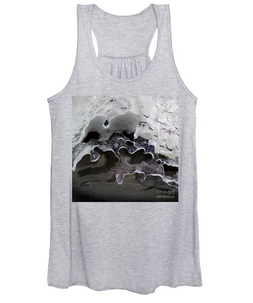 Snow And Ice Square Women's Tank Top