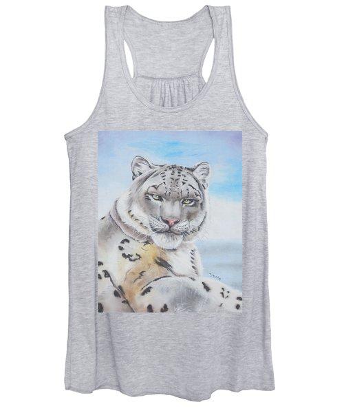 Snow Leopard Women's Tank Top