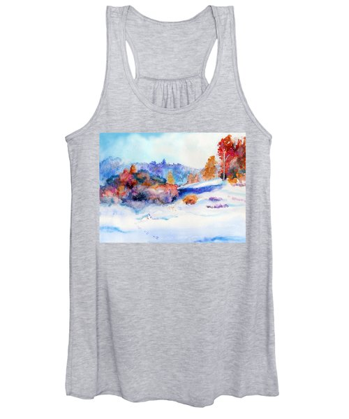 Snowshoe Day Women's Tank Top