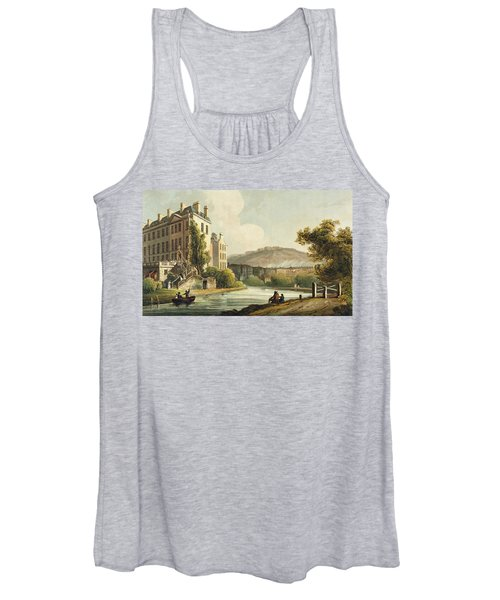 South Parade From Bath Illustrated Women's Tank Top