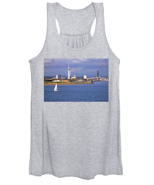 Spinnaker Tower And Gunwharf Quays Women's Tank Top