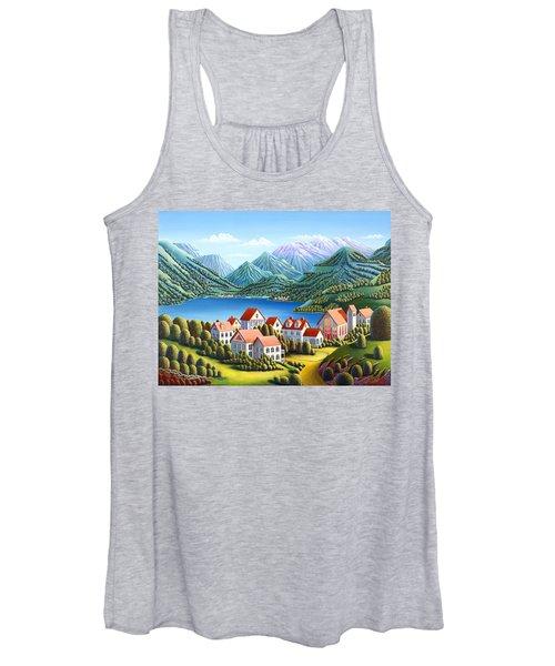 Spirit Mountains Women's Tank Top