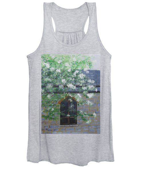 Spring At Grace Church Women's Tank Top