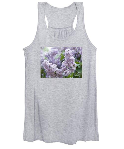 Spring Lilacs In Bloom Women's Tank Top