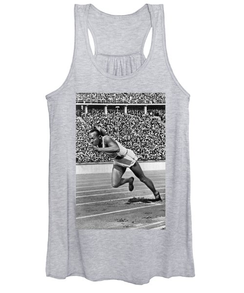 Sprinter Jesse Owens Women's Tank Top