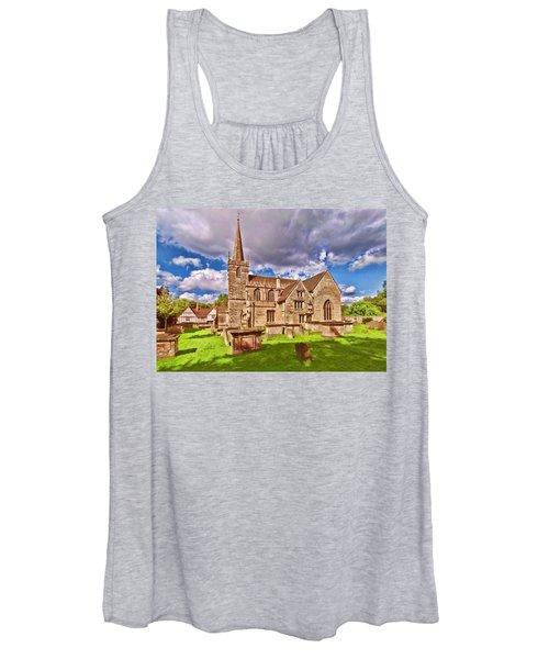 St Cyriac Church Lacock Women's Tank Top