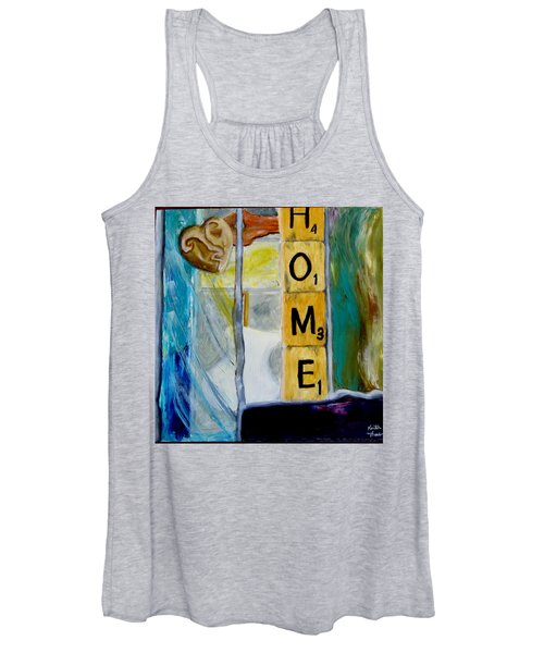 Stained Glass Home Women's Tank Top