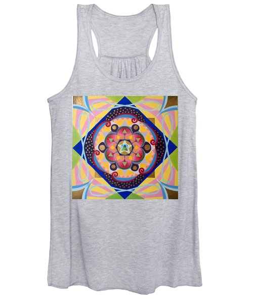 Star Mandala Women's Tank Top