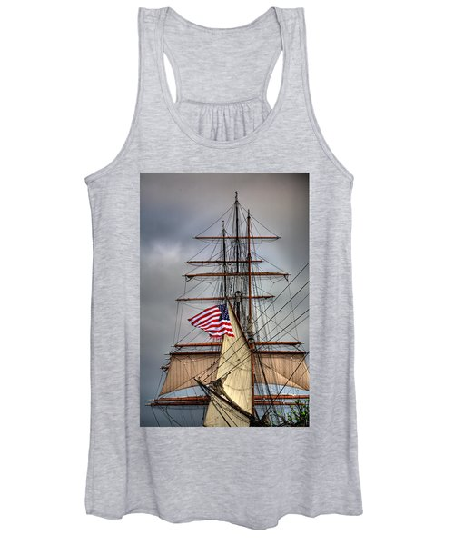 Star Of India Stars And Stripes Women's Tank Top
