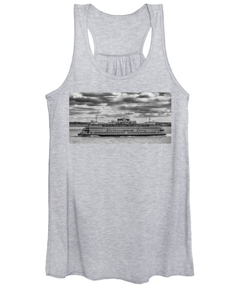 Staten Island Ferry 10484 Women's Tank Top
