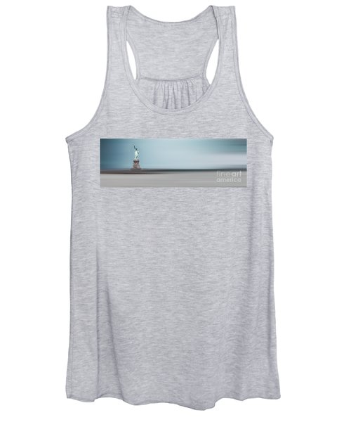 Statue Of Liberty - Blue Women's Tank Top