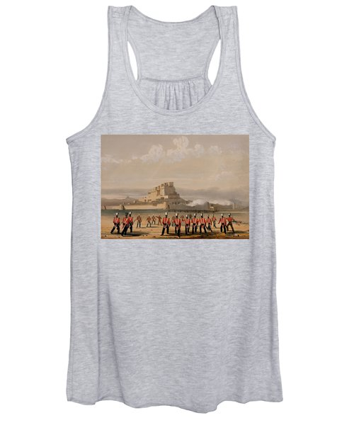 Storming Of Khelat, The Advance Women's Tank Top