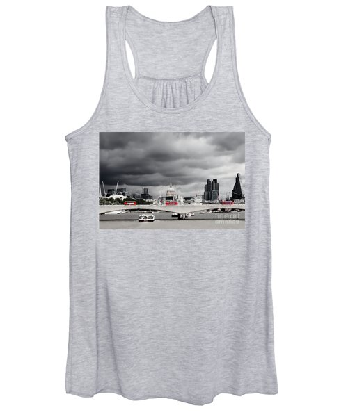 Stormy Skies Over London Women's Tank Top
