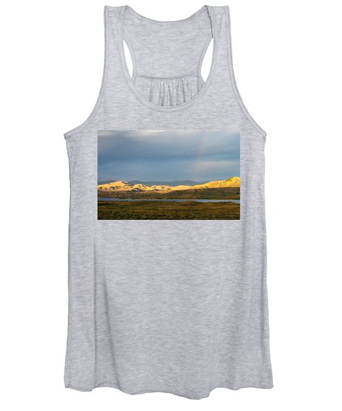 Stormy Sky With Rays Of Sunshine Women's Tank Top