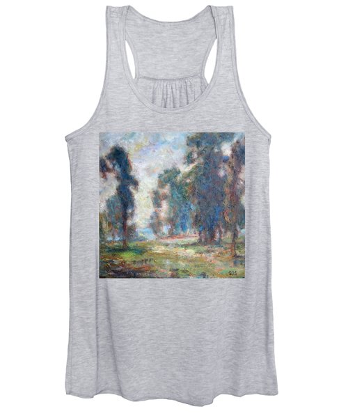 Study Of An Impressionist Master Women's Tank Top