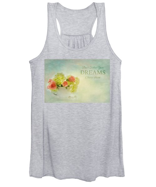 Sugar And Spice With Message Women's Tank Top