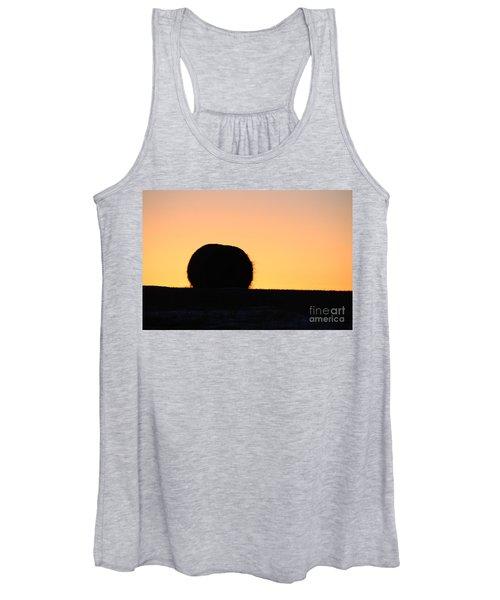Sun Rise Silhouette Women's Tank Top
