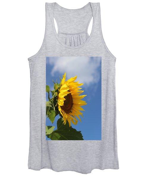 Sunflower Profile 2 Women's Tank Top