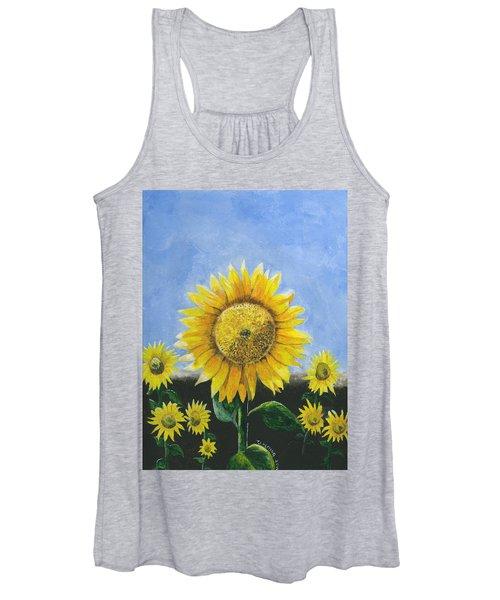 Sunflower Series One Women's Tank Top