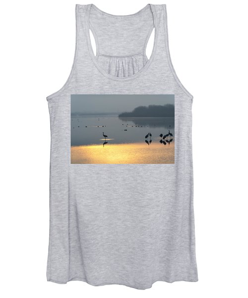 Sunrise Over The Hula Valley Israel 1 Women's Tank Top