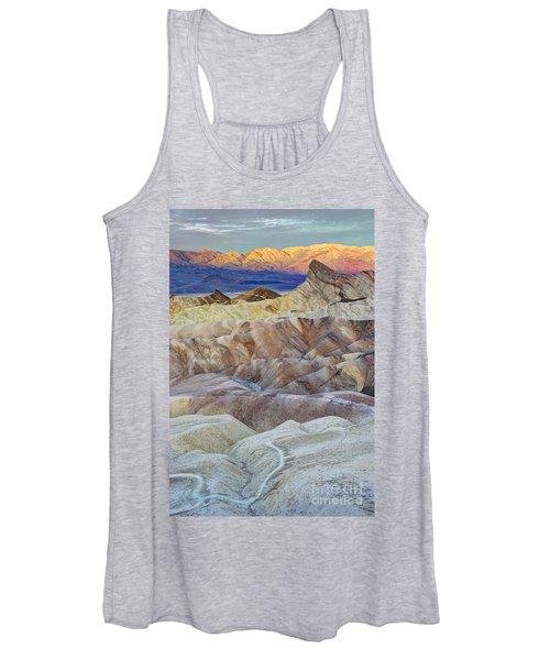 Sunrise In Death Valley Women's Tank Top