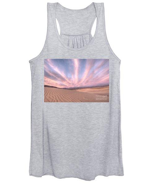 Sunrise Over Sand Dunes Women's Tank Top